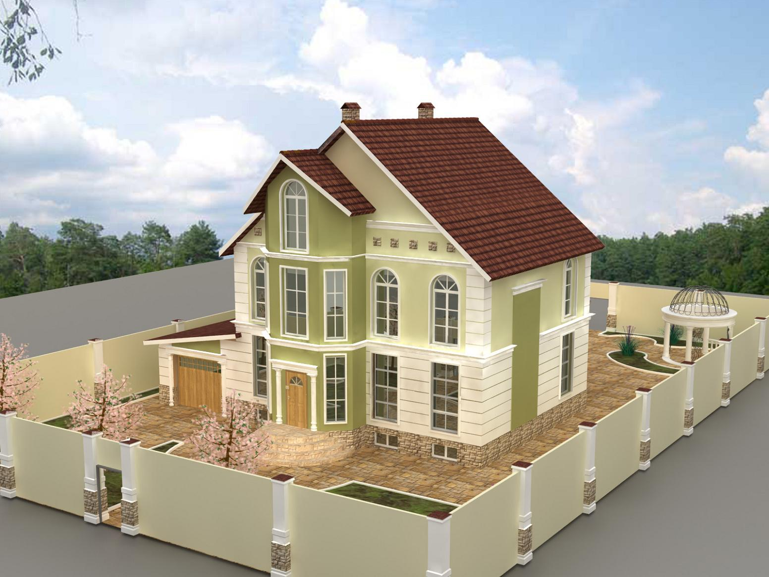 Дизайн частного дома фото