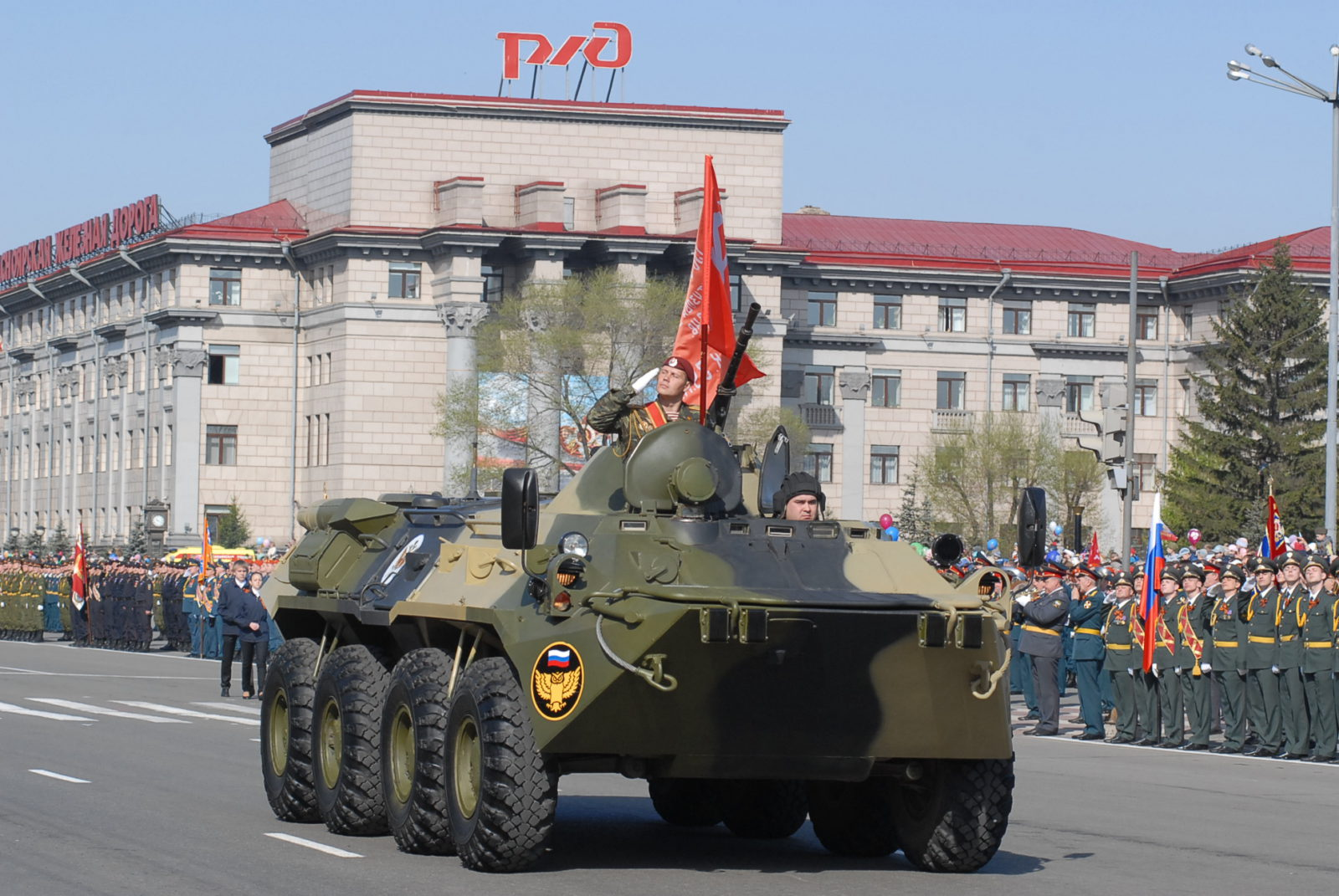 Во сколько будет парад 9 мая в красноярске